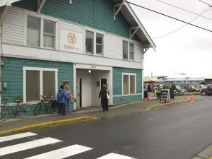Alaska Native Brotherhood Hall, where the Sitka Farmers Markets take place