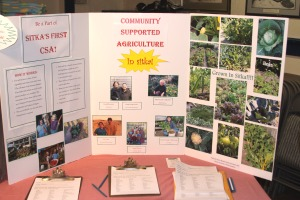 Information about Sitka's first CSA from the Let's Grow Sitka! event on March 14