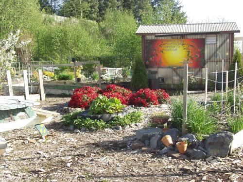 Blatchley Community Gardens entrance