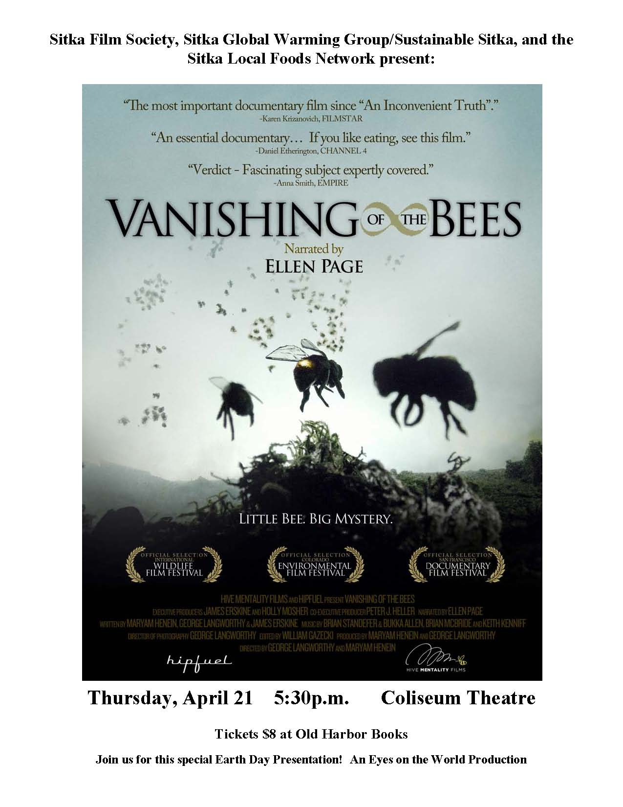 vanishing of the bees Watch vanishing of the bees - documentary on directv it's available to watch researchers investigate a worldwide collapsing of honeybee colonies pxvdtpa012.