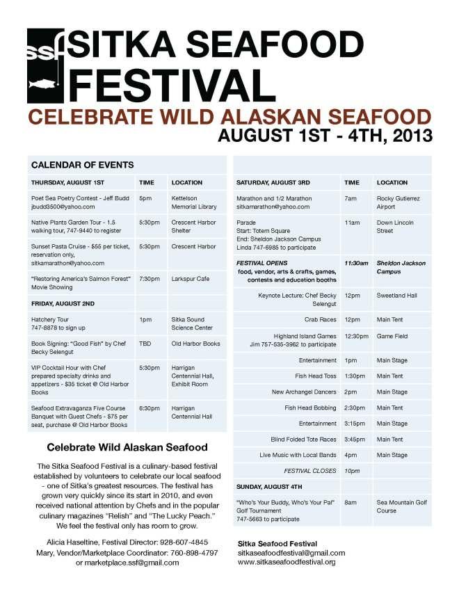 SSF Event Calendar