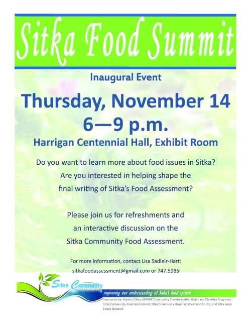 Sitka Food Summit Flyer