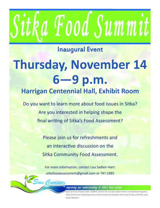 Sitka Food Summit Flyer