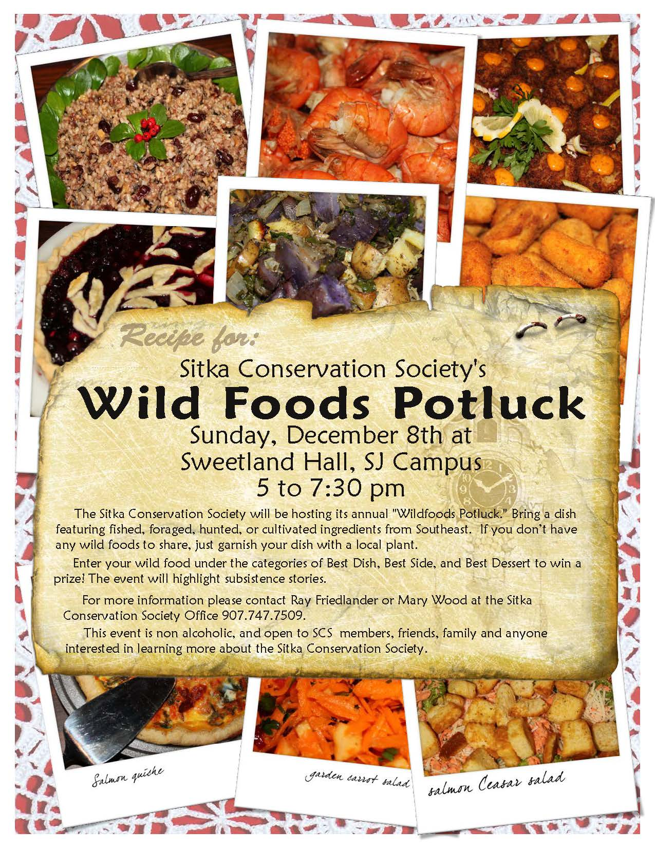 Wild Foods Potluck no words