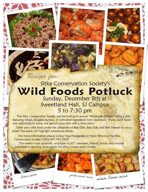 Wild Foods Potluck no words