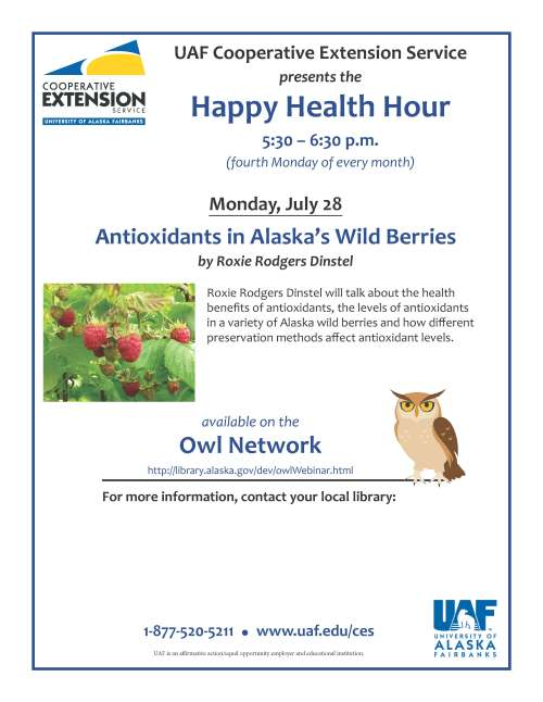 OWL Happy Health Hour specific July 28
