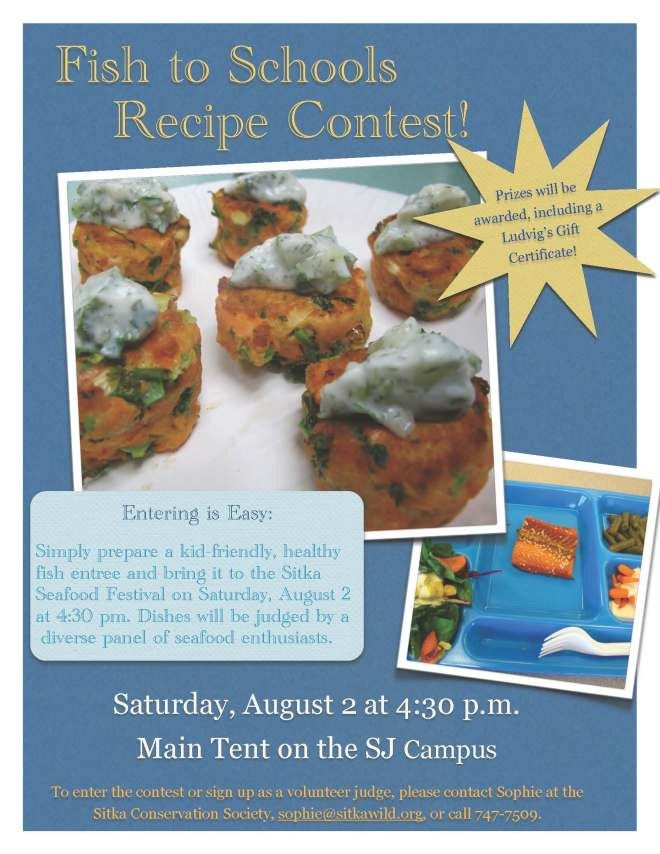 Fish to schools seafood recipe contest seeks kid friendly dishes at recipe contest final forumfinder Choice Image