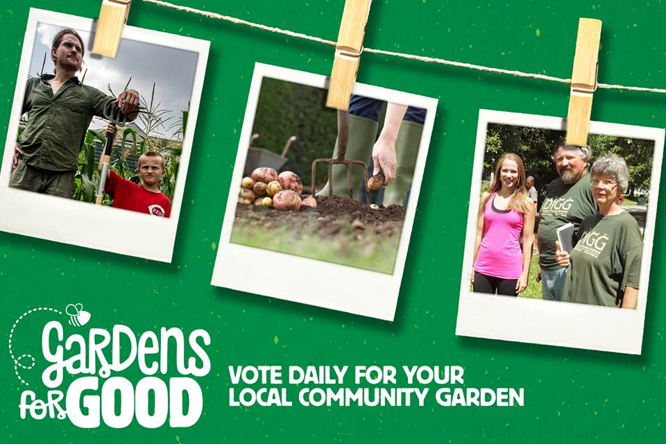 Gardens for Good contest