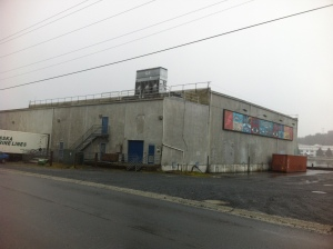 Sitka's city-owned cold storage plant on Katlian Street is one place that has been suggested for a possible rooftop greenhouse.