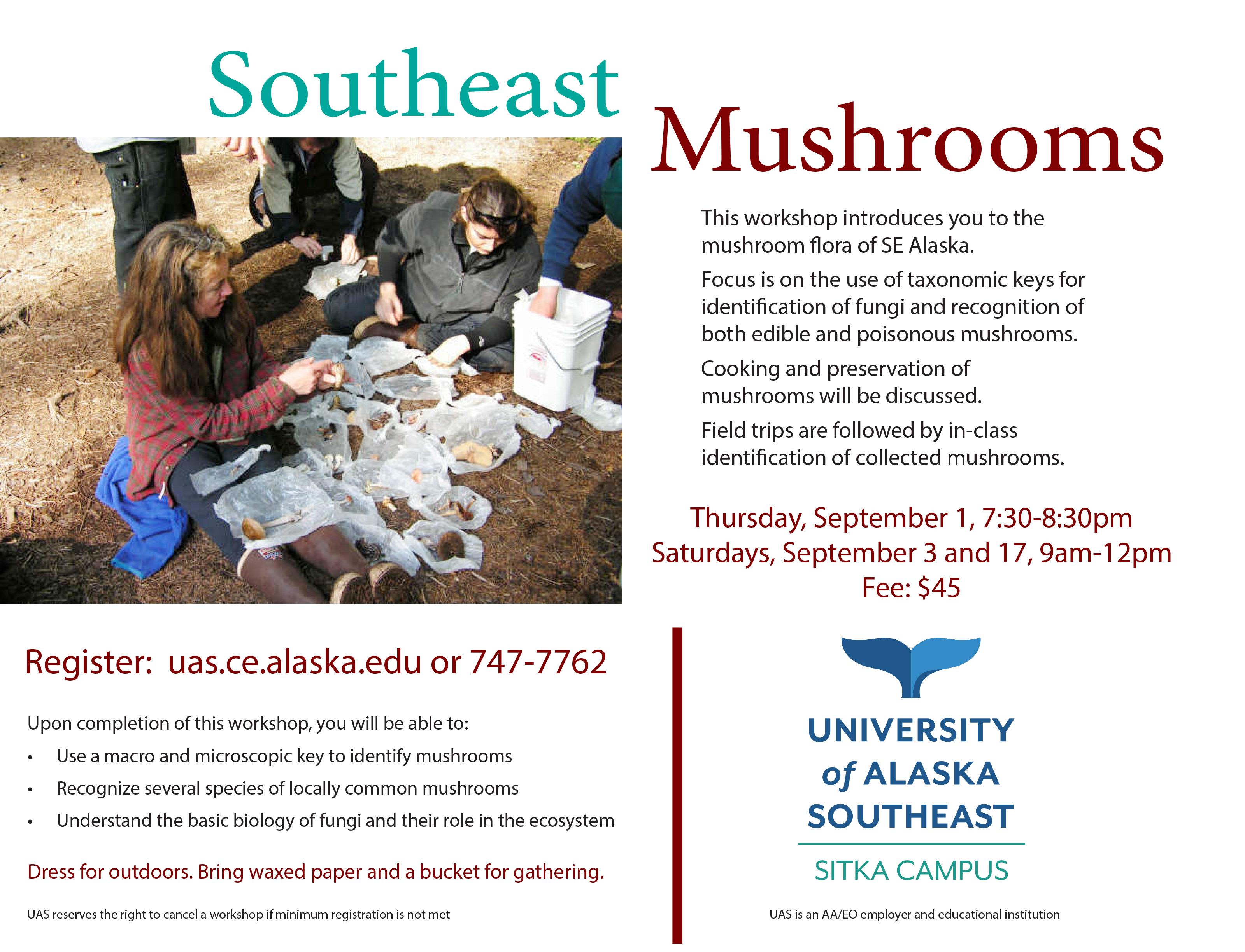 SE mushrooms Flyer 2016