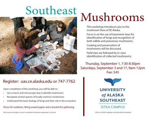 SE mushrooms Flyer 2016