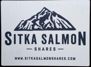 SitkaSalmonSharesSign