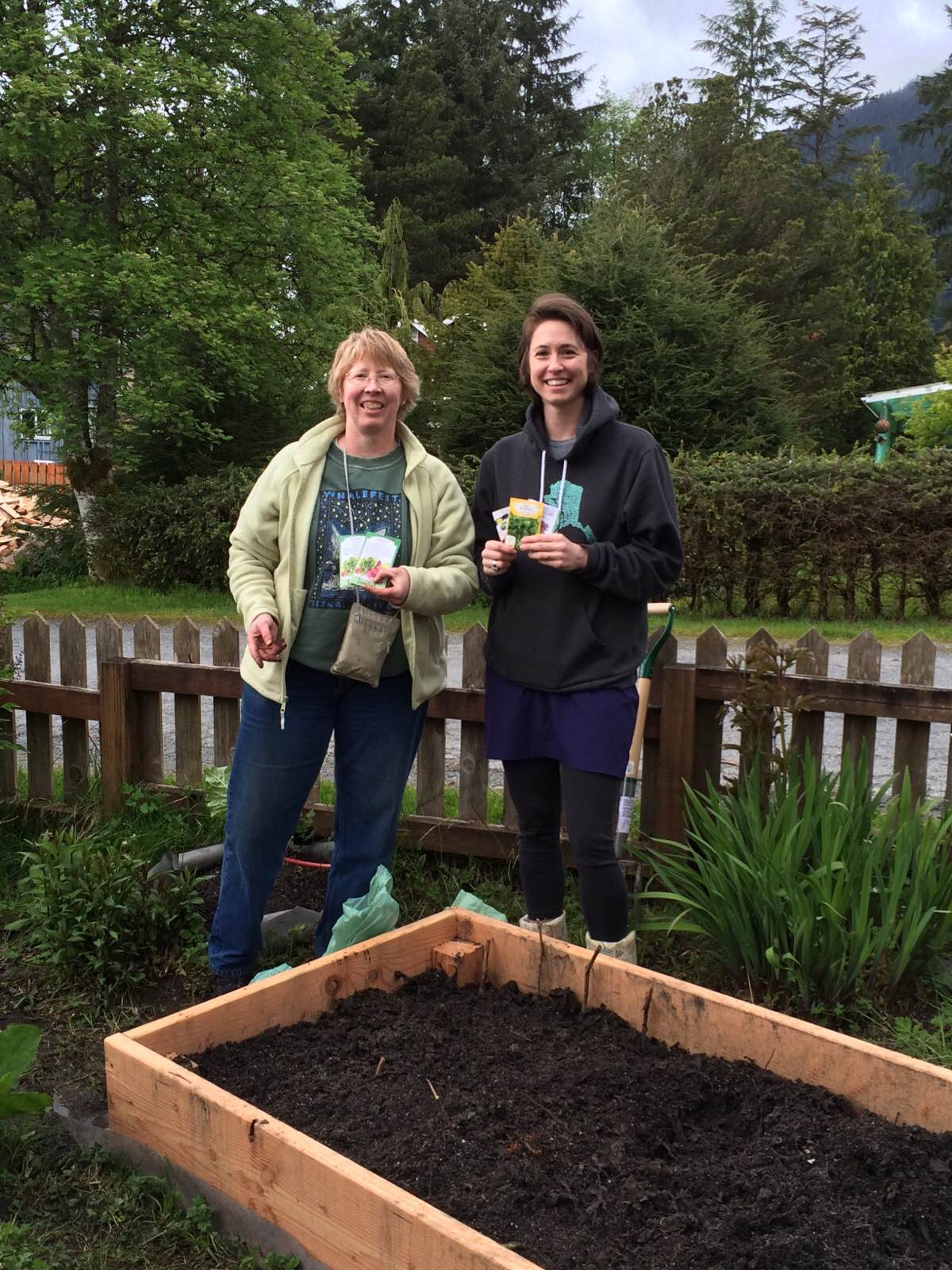 The Final Batch Of Classes (Class Six) For The 2016 Sitka Local Foods  Network Garden Mentor Program Are Being Set For Our Two Participating First Year  ...