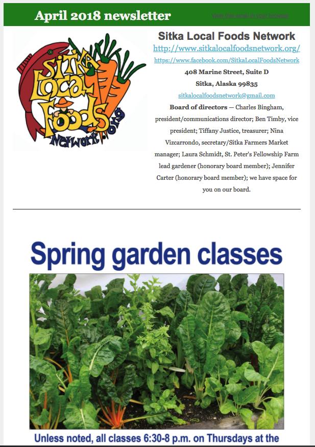 Sitka Community Gardens – Sitka Local Foods Network